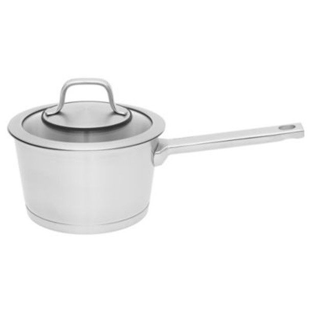"""Manhattan 18/10 Stainless Steel 6.25"""" Covered Sauce Pan-4158231"""