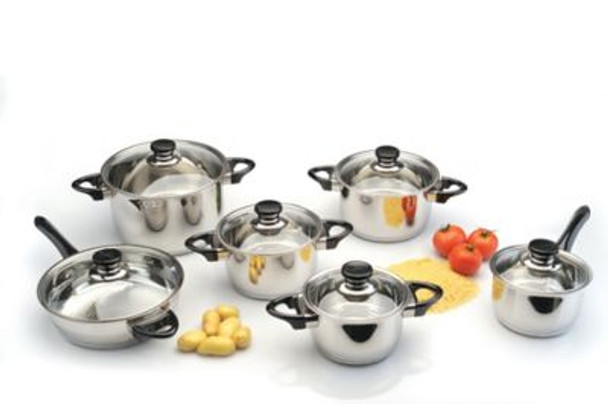 Vision Stainless Steel 12-Piece Cookware Set-4158257