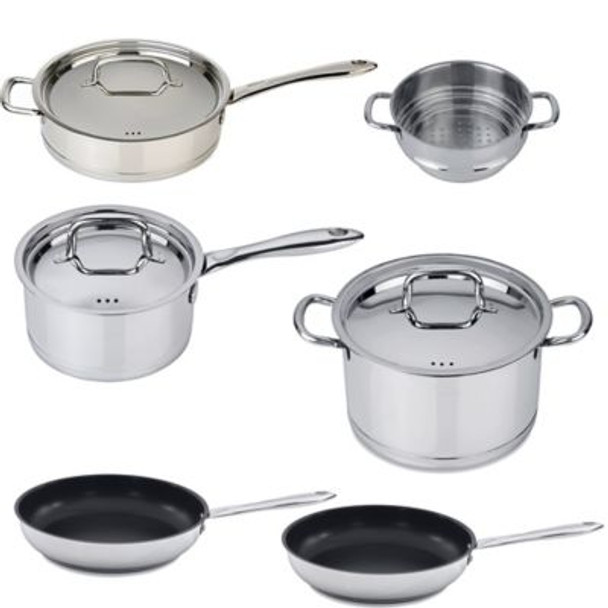 Collect 'N Cook 18/10 Stainles Steel 10-Piece Set-4158312