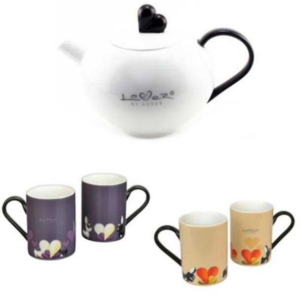 Lover By Lover 5-Piece Tea Set-4158315