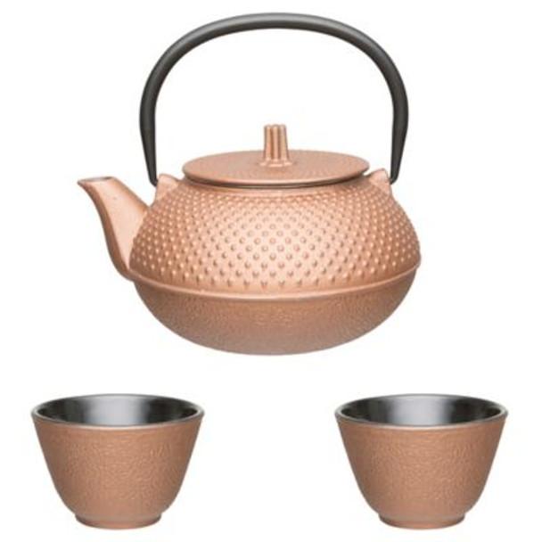 Studio Cast Iron 3-Piece Tea Set-4158321