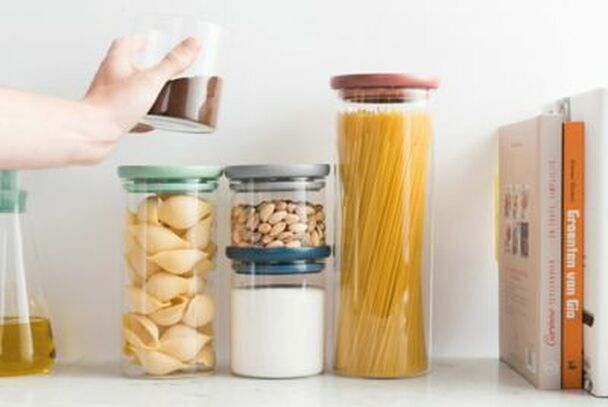 Leo Glass Food Container - Set of 3-4158391