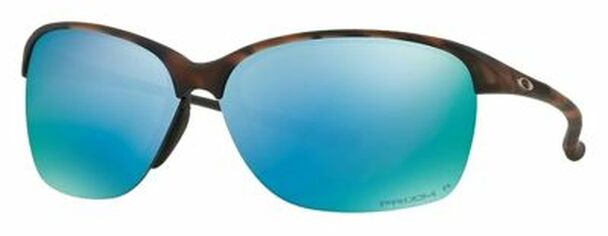Oakley Women's Polarized Unstoppable Sunglasses-Matte Brown Tortoise/Prizm Deep Polarized-4158416