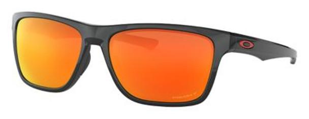 Oakley Polarized Holston Sunglasses-Polished Black/Prizm Ruby Polarized-4158421