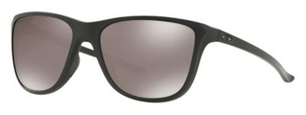 Oakley Women's Polarized Reverie Sunglasses-Matte Black/Prizm Black Polarized-4158422