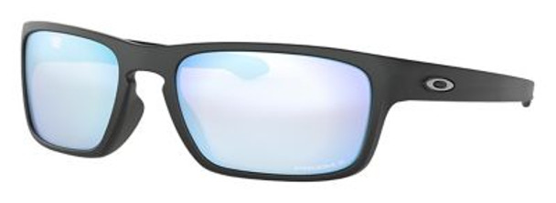 Oakley Polarized Sliver Stealth Sunglasses-Matte Black/Prizm Deep Water Polarized-4158427