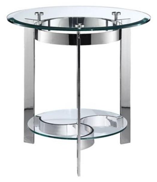 Mercury Round End Table-4163606