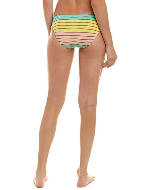 Trina Turk Lurex Stripe Bikini Bottom~1411750459