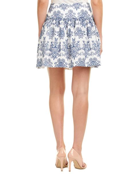 98eb745814 n / nicholas Embroidered A-Line Skirt~1411076726 - Bon-Ton