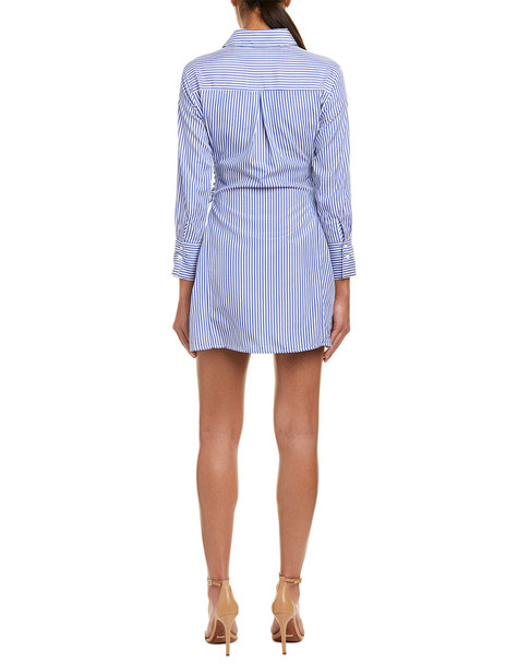 The Room by Ark & Co. Lace-Up Shirtdress~1411172368