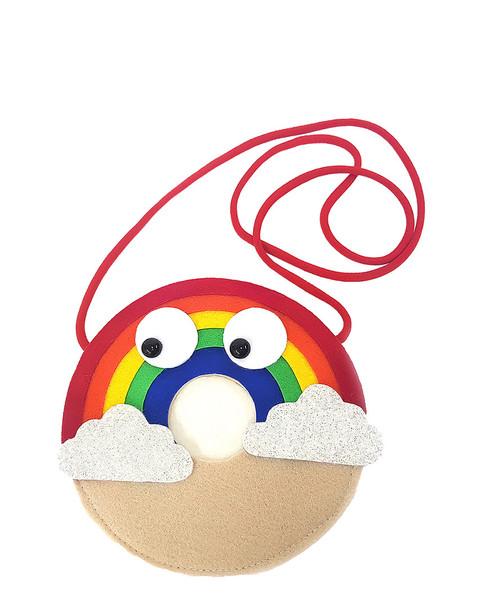 OOAHOOAH Rainbow Donut Felt Purse~1111828200