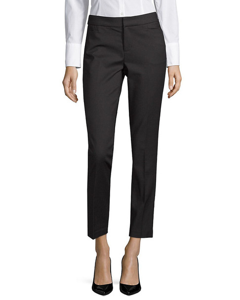 Saks Fifth Avenue BLACK Power Stretch Trouser~1411127462