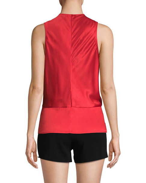 Ramy Brook Edel Ruched Blouse~1411266104