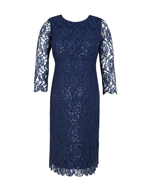 JoJo Maman Bebe Lace Shift Dress~1411900741