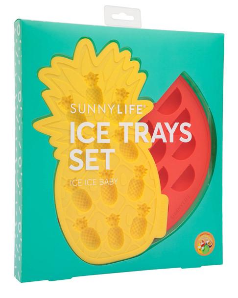 Sunnylife Set of 2 Fruit Salad Ice Trays~3010776124