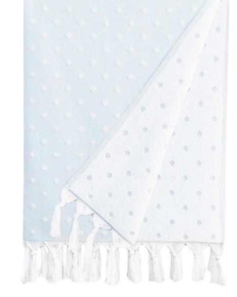 Linum Home Textiles Ephesus Polka Dot Pestemal Towel~3030874198