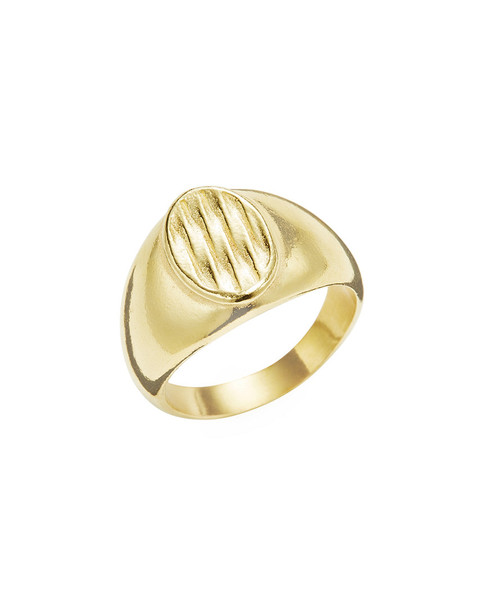 Degs & Sal Twisted Oval Signet Ring~6020813710