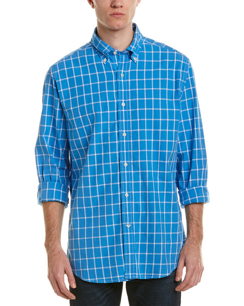 Southern Tide Road Harbor Check Woven Shirt~1010889906