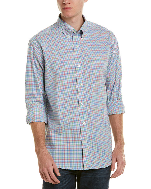 Southern Tide Trim Fit Woven Shirt~1010889910