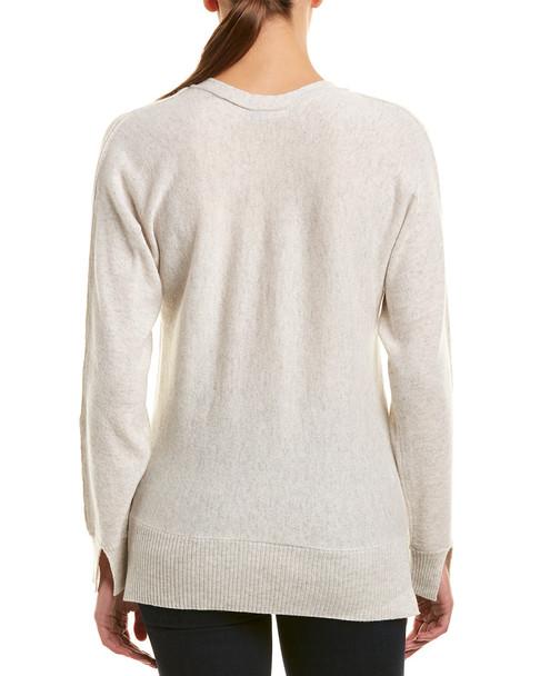 InCashmere V-Neck Cashmere Pullover~1411661707