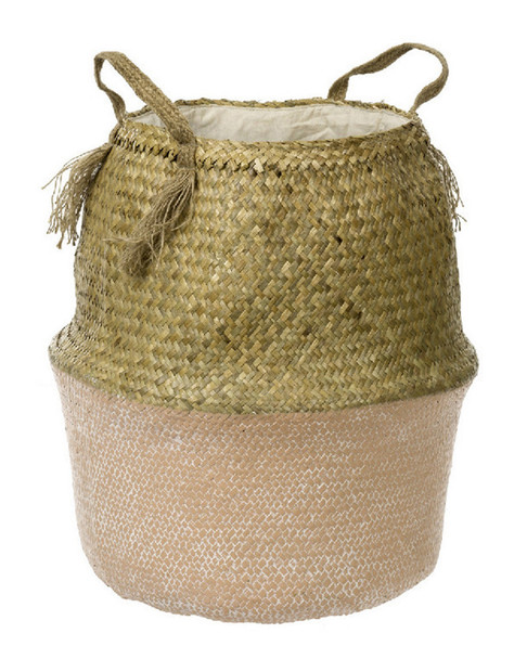Indaba Tall Belly Round Basket~3050775732