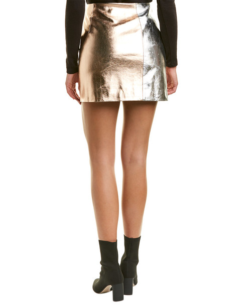 French Connection Audrey Pu Mini Skirt~1411714106