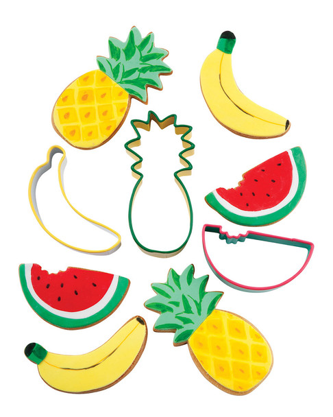 Sunnylife Fruit Salad Cookie Cutters~3010779658