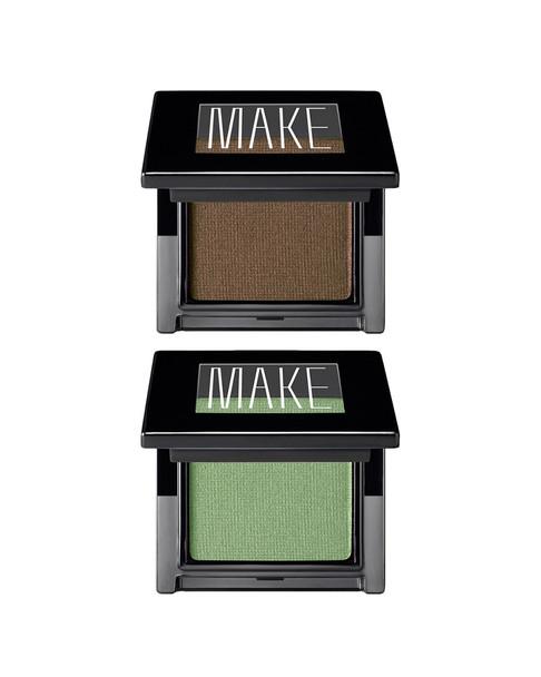 Make Satin Finish Eyeshadow Duo (Granite, Verdigris)~4120766823