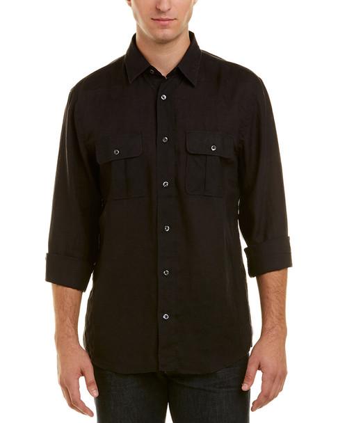 Billy Reid Brantley Linen Standard Fit Woven Shirt~1010938784
