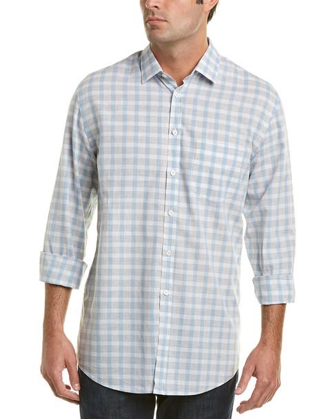 Billy Reid John Linen-Blend Standard Fit Woven Shirt~1010938790