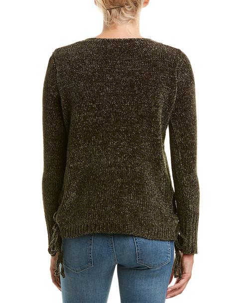 Unwine Lace-Up Sweater~1411714545