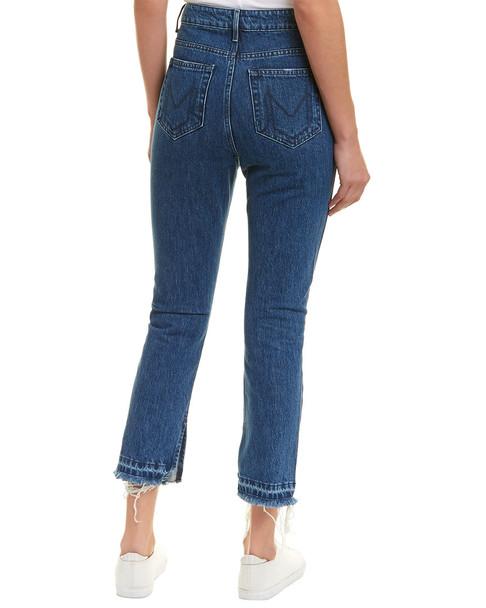 Mumu Blue Brooklyn Sapphire High-Rise Straight Leg~1411857843