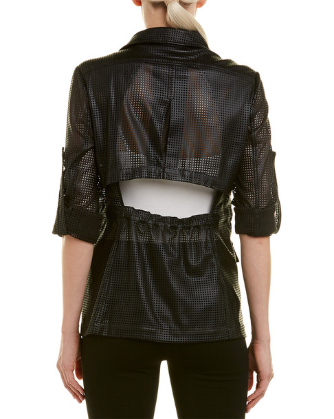 BCBGMAXAZRIA Bronnen Perforated Jacket~1411893965