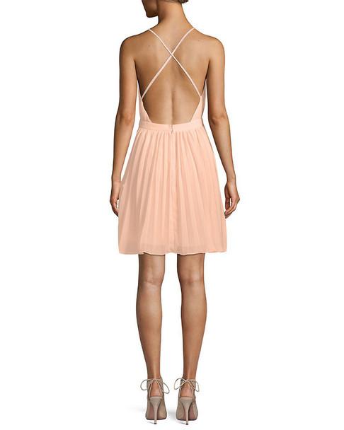 Endless Rose Pleated Mini Dress~1411911136