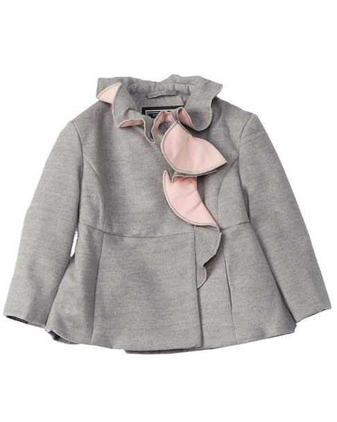 Rothschild Kids Ruffle Coat~1511876054