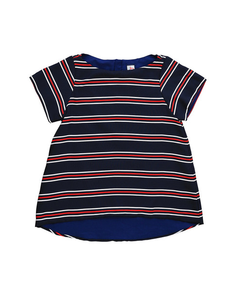 Busy Bees Tory Red, White & Navy Top~1511952109