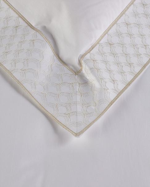 Maurizio Italy Taj Mahal Embroidered Duvet Set~3030897966