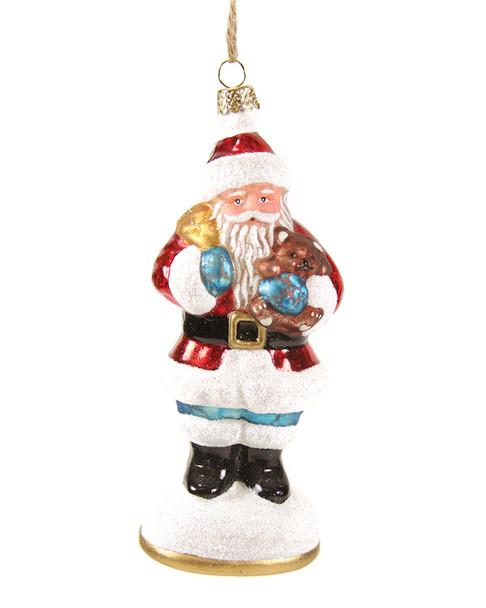 Set of 6 Victorian Santa Claus Ornaments~3050637478