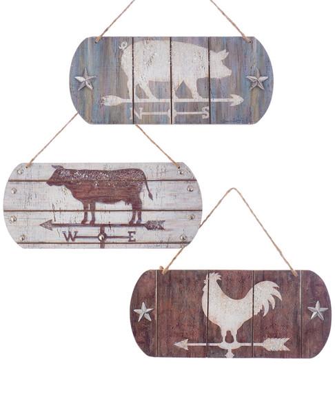 Set of 6 Weathervane Ornaments~3050712959
