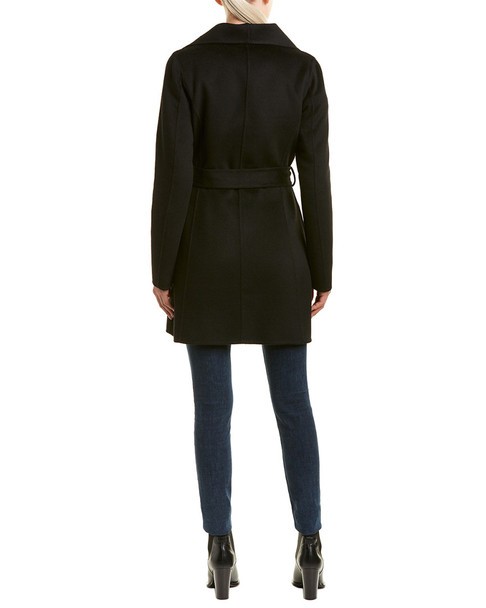 Tahari Ella Wool-Blend Wrap Coat~1411680488