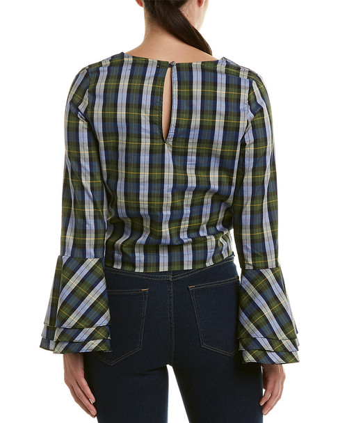 LIKELY Tie-Front Top~1411744994