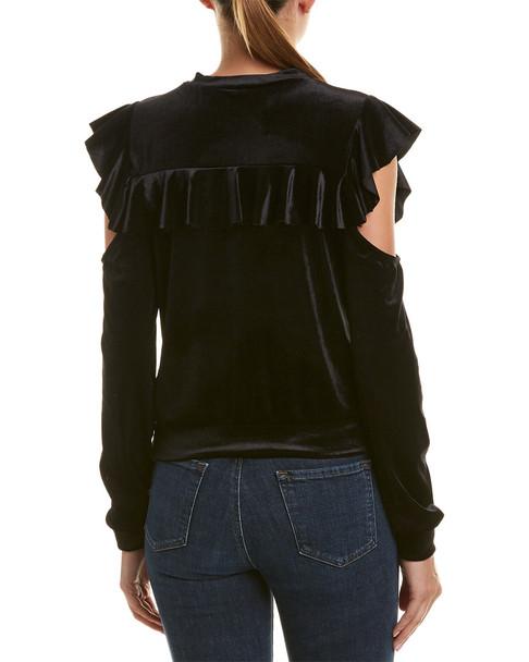Romeo & Juliet Couture Cold-Shoulder Top~1411782031