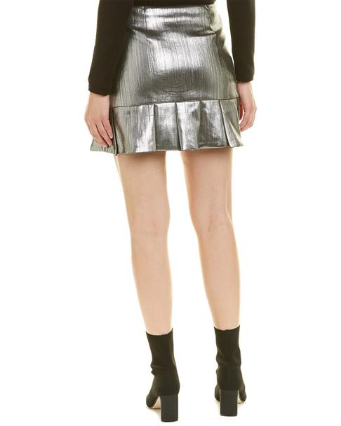 Endless Rose Metallic Mini Skirt~1411797349