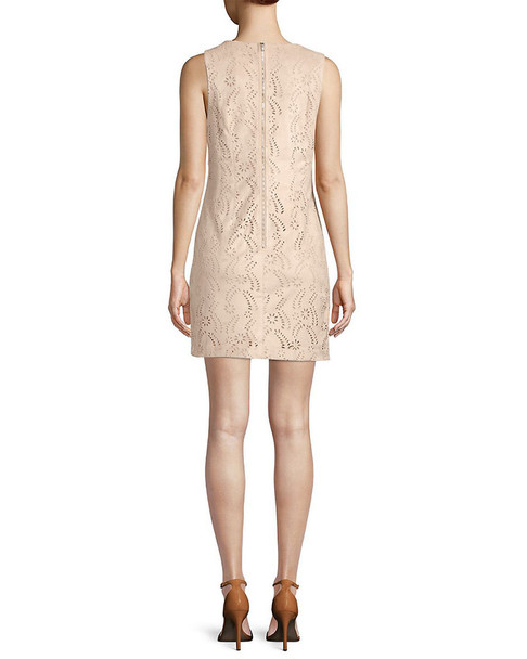 Endless Rose Eyelet Mini Dress~1411857375