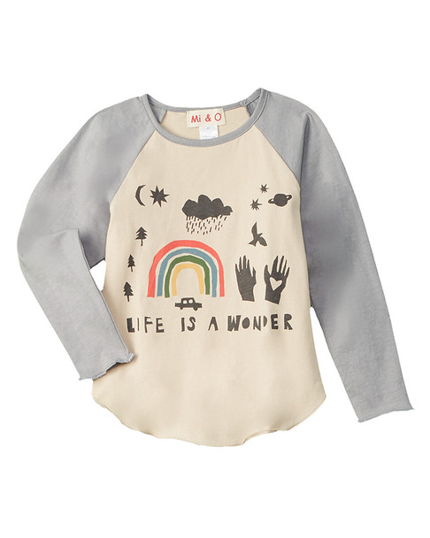 Mi & O Rainbow T-Shirt~1511166995
