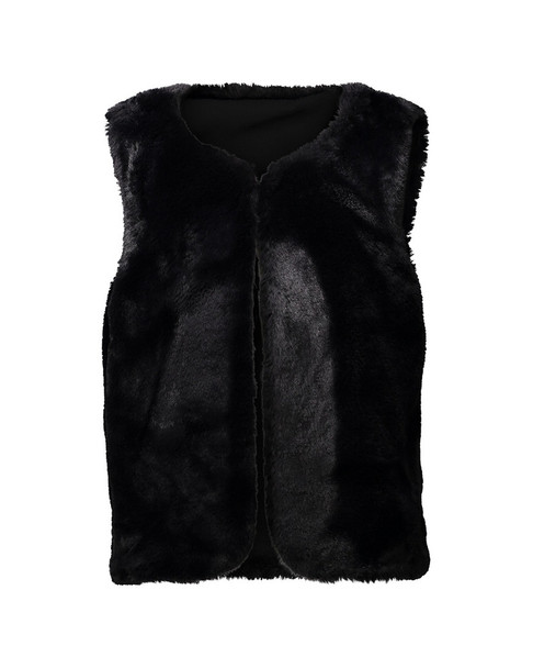 Andy & Evan Sparkle Fur Vest~1511843485