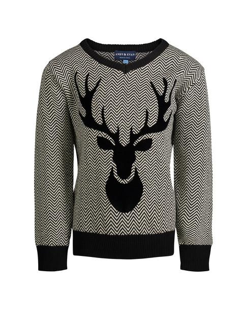 Andy & Evan Herringbone Sweater~1511843491