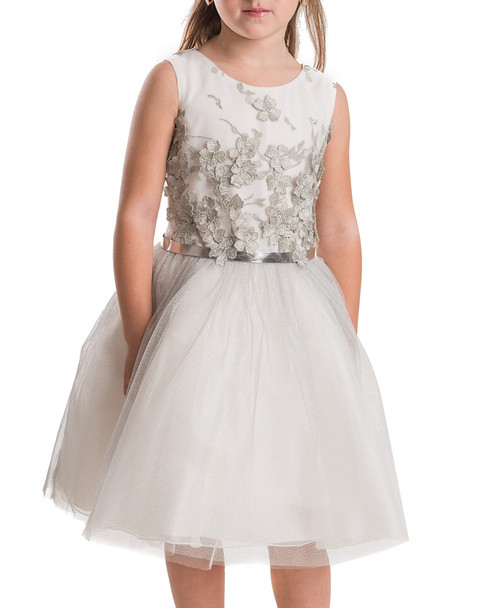 ZOE Embrioided Tulle Dress~1511891458