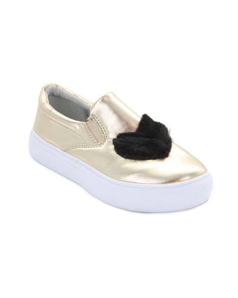 Hoo Heart/Star Slip-On Sneaker~1511914800