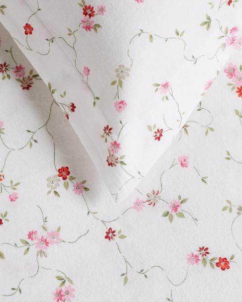 Whit & Alex Flannel Floral Duvet Set~3030013863